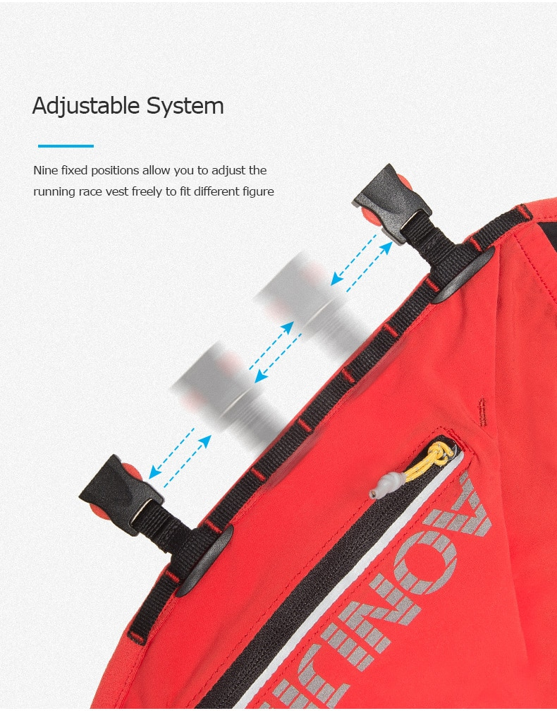 AONIJIE C962 Advanced Skin 12L Hydration Backpack Pack Bag Vest Soft Water Bladder Flask For Hiking Trail Running Marathon Race