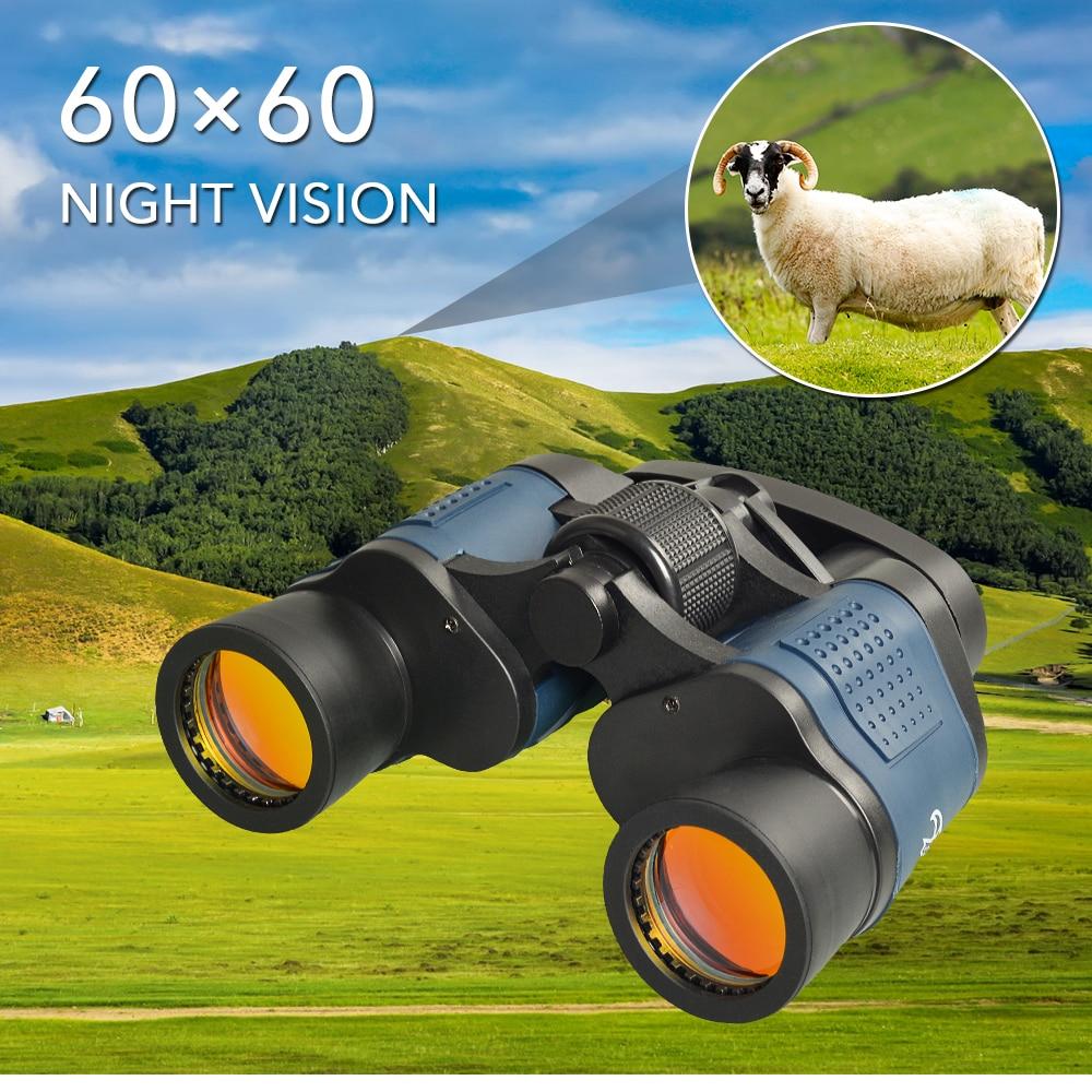 APEXEL Professional Telescope 60X60 Binoculars 10000M High Power For Outdoor Hunting Optical Night Vision Binoculars Waterproof