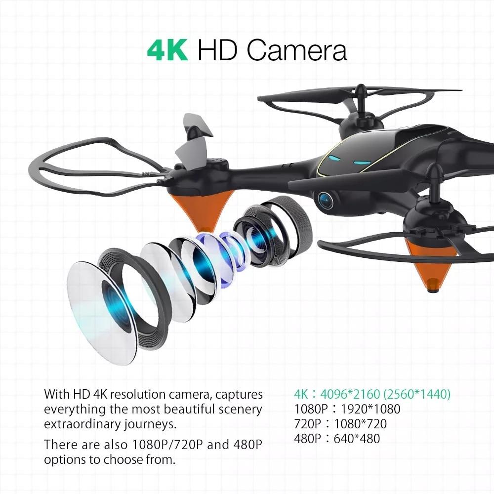 Eachine E38 WiFi FPV RC Drone 4K Camera Optical Flow 1080P HD Dual Camera Aerial Video Quadcopter Aircraft Remote Control Toys