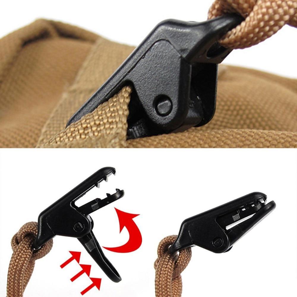 10Pcs tent awning canopy clamp tarp clip snap canvas anchor gripper Caravan jaw grip trap Tighten tool outdoor camp hike kit