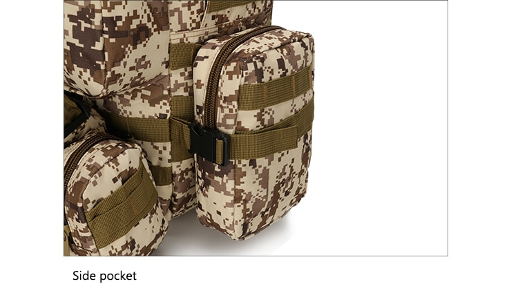 50L Tactical Backpack,Men's Military Backpack,4 in 1Molle Sport Tactical Bag,Outdoor Hiking Climbing Army Backpack Camping Bags