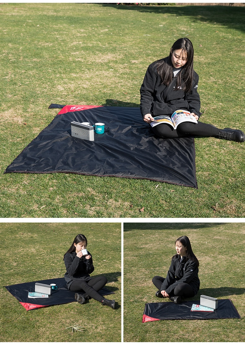 NatureHike Waterproof Picnic Mat Pad Camping Mat Foldable Sleeping Mattress Aluminum Foil EVA Outdoor Sports Moisture Proof Mat